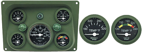 Heavy Equipment Gauges : Clark brothers instrument